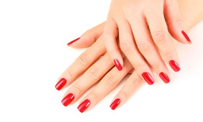 image for Gel Manicure or Gel Manicure and Pedicure at Jadore Beauty and More (Up to 37% Off)