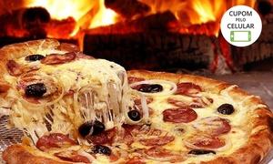 Pizza na Pedra: 1 ou 2 pizzas grandes na Pizza na Pedra – Engenho de Dentro