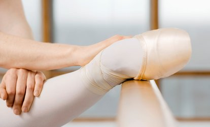 One Month of <strong>Ballet</strong> Classes for an Adult or Child at 1st Russian <strong>Ballet</strong> School (50% Off)