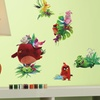 Angry Birds The Movie Peel-and-Stick Wall Decal Set (17-Piece)
