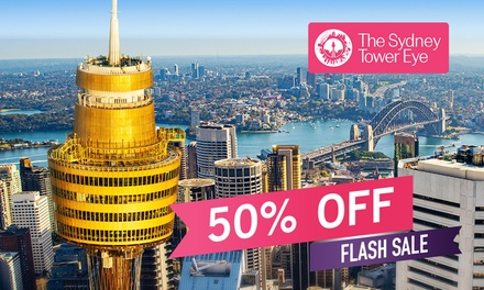 Sydney Tower Eye: Child ($10) or Adult ($14.50) Entry (Up to $29 Value) - Valid till 31st May 2021