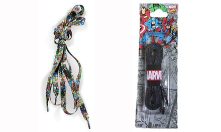 Marvel Comics Shoelaces