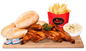 Spitfire: Full Grilled Chicken Family Meal from R129 at Spitfire (Up to 34% Off)