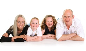 Regent Studios: One-Hour Family Photoshoot With Eight Prints for £14 at Regent Studios (96% Off)