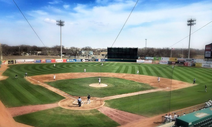 San Antonio Missions - Nelson Wolff Municipal Stadium: San Antonio Missions  Baseball Games at Nelson Wolff Municipal Stadium (Up to 66% Off). Three Options Available.