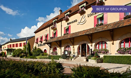 Saulieu : Séjour de prestige et haute gastronomie 2*, petits déjeuners, accès spa au Relais Bernard Loiseau 5*  pour 2