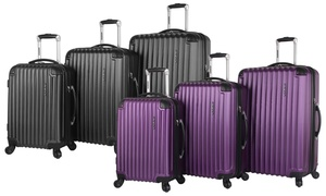 Ciao Traveler Expandable Hardside Spinner Luggage Set (3-Piece)