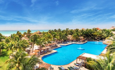 groupon daily deal - 4- or 5-Night All-Inclusive Stay for Two at El Dorado Royale, A Spa Resort by Karisma in Mexico. Includes Taxes & Fees.
