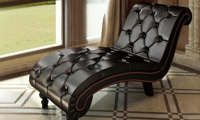 Super Loungebank Chesterfield Groupon Goods Lamtechconsult Wood Chair Design Ideas Lamtechconsultcom