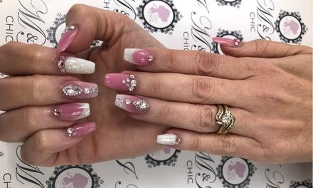 Up to 36% Off on Nail Spa/Salon - Mani-Pedi at M & I Chic Beauty Salon