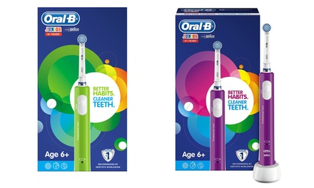 Oral B Junior Electric Rechargeable Toothbrush in Two Colours