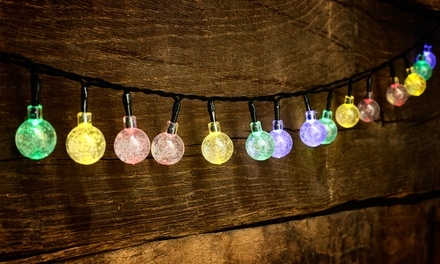 30-LED Crystal Bulb String Lights