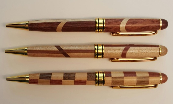 MG Laser Studios - Palmer Park: Three Pens or $12 for $20 Worth of Laser-Engraved Wood Products at MG Laser Studios