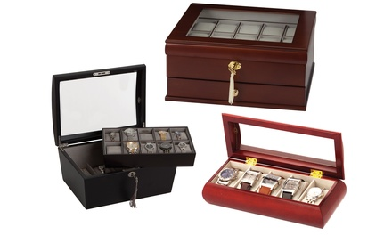 Mele & Co Wooden Watch Box