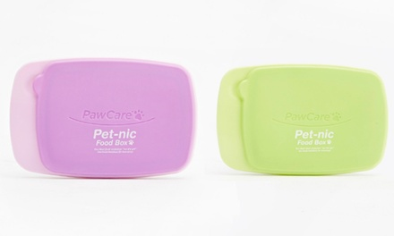 Two Pet-Nic Food Boxes for Pets for £5.99