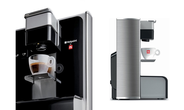 Hotpoint For Illy Espresso Machine Groupon Goods