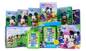 Me Reader Mickey Mouse Clubhouse Electronic Reader Book Set (8-Piece)