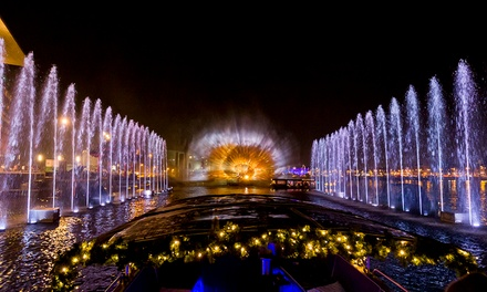 A'dam Light Festivalboottour van 1,5 uur inclusief welkomstdrankje bij Amsterdam Circle Line