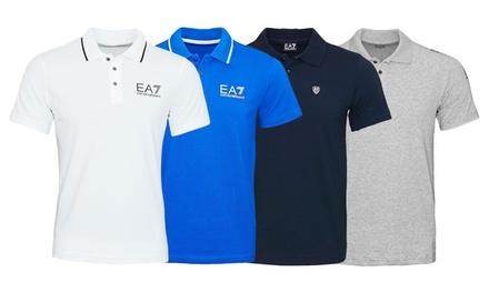 EA7 Emporio Armani Herren-Poloshirt im Modell und in der Farbe nach Wahl