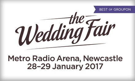 Tickets to The North East Wedding Fair, 28-29 January, from £8 (Up to 41% Off)
