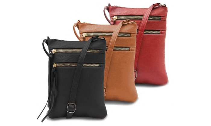 5ecb77ffd4e4f7 Maze Exclusive Genuine Leather Crossbody Bags | Groupon