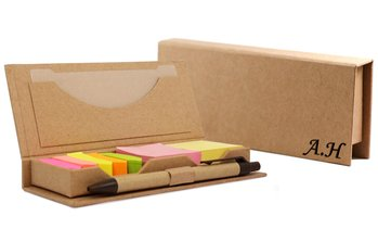 Up to 92% Off Personalized Box with Sticky Notes and Flags