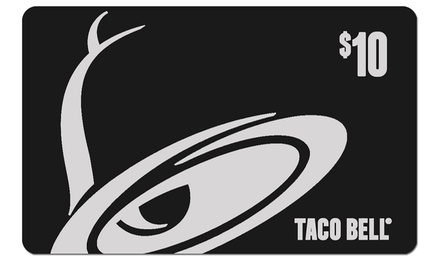 Taco Bell Gift Card - Taco Bell | Groupon