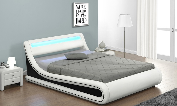 Base letto con luce LED | Groupon Goods