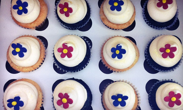 Just Cakin' It Cakery & Dessert Bar - Vacaville: $17 for One Dozen Cupcakes at Just Cakin' It Cakery & Dessert Bar in Vacaville (Up to $35.40 Value)
