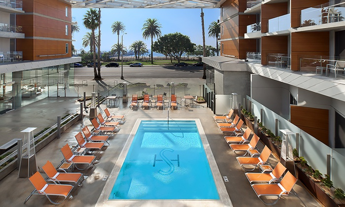 4-Star Oceanside Hotel in Santa Monica