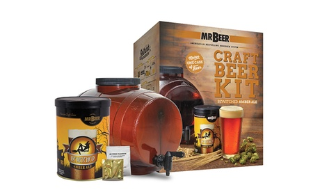 Mr. Beer Bewitched Amber Ale Craft Beer Making Kit 3fb3a13b-4457-4558-943d-9e2ad4374bbd