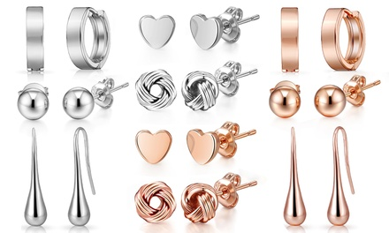 One, Five or Ten Pairs of Philip Jones Earrings