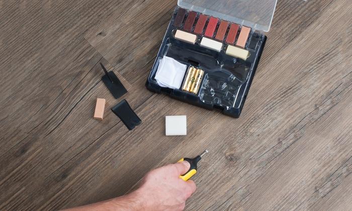 Kit riparazione pavimenti in laminato | Groupon Goods