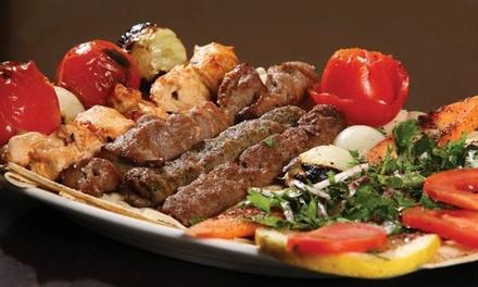 Entrée, plat et dessert au choix à la carte pour 2 ou 4 personnes dès 29 € au restaurant Le Prince Cuisine Libanaise