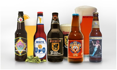 Best of Beer or Wine of the Month Subscription from Clubs of America (2, 3, or 4-Month). Shipping Included.