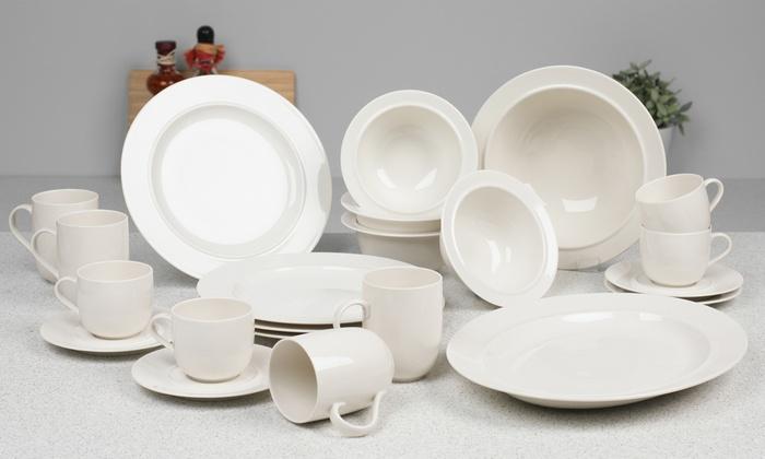 vaisselle en porcelaine alessi groupon. Black Bedroom Furniture Sets. Home Design Ideas