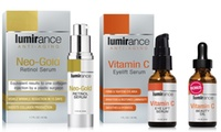 Deals on Lumirance Neo-Gold Retinol Serum & Vitamin C Eye Lift