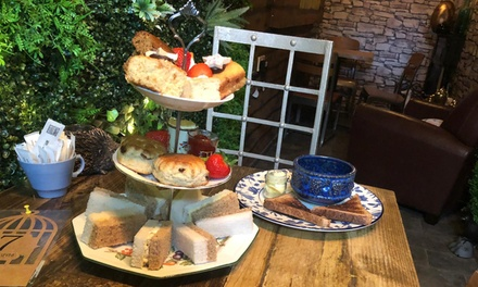 Muddled Afternoon Tea and Cauldron Soup for One or Two at The Chosen Tea Room