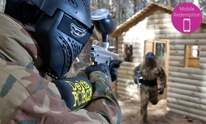 Delta Force Paintball: From $10 for Paintball with Equipment Hire + 100 Paint Balls with Delta Force Paintball, Two Locations (From $45 Value)