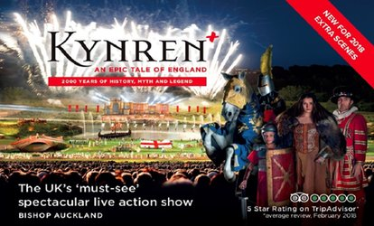 Kynren: An Epic Tale of England, 30 June - 31 August, Flatts Farm, Bishop Auckland (Up to 20% Off)