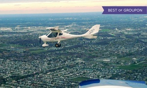 New Flyers Association: $111 for One 60-Minute Introductory Flight Lesson at New Flyers Association ($149 Value)