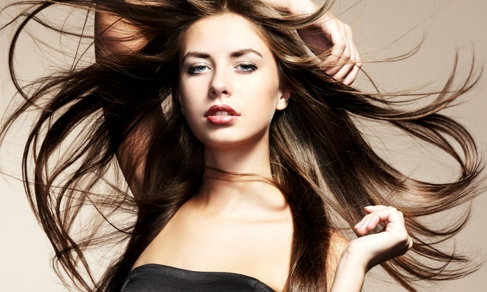 Anthony Richard Salon - Dix Hills: Haircut with Optional Color, Partial Highlights, or Ombre Highlights at Anthony Richard Hair Salon (Up to 67% Off)