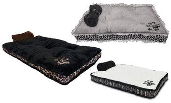 Dr. Gabby Wild Reversible Dog Bed and Blanket Set (2-Piece)