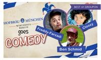 2 Tickets für Hofbräu goes Comedy am 01.04.2017 um 19 Uhr im Hofbräu Berlin (50% sparen)
