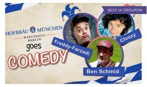 Jochen Prang: 2 Tickets für Hofbräu goes Comedy am 01.04.2017 um 19 Uhr im Hofbräu Berlin (50% sparen)