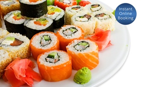 The Sushi Buffet: All-You-Can-Eat Sushi for Two ($32), Four ($64) or Six ($96) at The Sushi Buffet (Up to $149 Value)