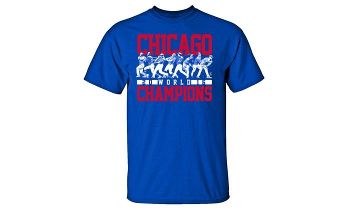 MLB Chicago Cubs World Champions T-Shirt