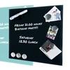 glas magnettafel mit 6 magneten groupon goods. Black Bedroom Furniture Sets. Home Design Ideas
