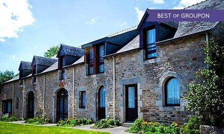 Bretagne : 1 ou 2 nuits avec petits déjeuners et 1 dîner en option au Domaine de Kerstinec pour 2 personnes