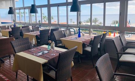 Menú italiano con entrante, principal, postre y bebida en Sapore di Mare Gran Canaria (hasta 65% de descuento)